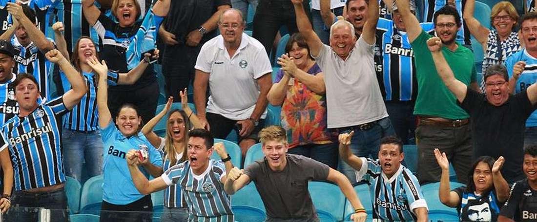 O conjunto de Porto Alegre quer uma alternativa a Marcelo Grohe. EFE/Archivo