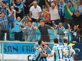 El conjunto brasileño consiguió vencer en su debut en la Libertadores. EFE/Archivo