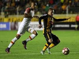 Chumacero marcou seis gols nesta edição da Libertadores. EFE
