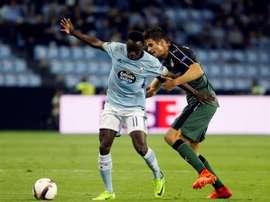 Pione Sisto est le meilleur joueur décisif de Liga. EFE