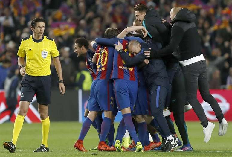 Barca have made the last eight for the last 13 years including against PSG in 2017. AFP
