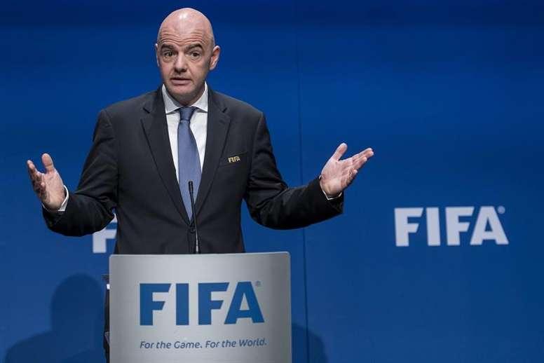 La FIFA, con el TAS y el TPO. EFE/Archivo