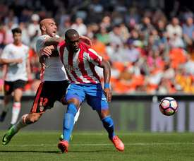Valence a réussi à décrocher le nul contre le Sporting. EFE