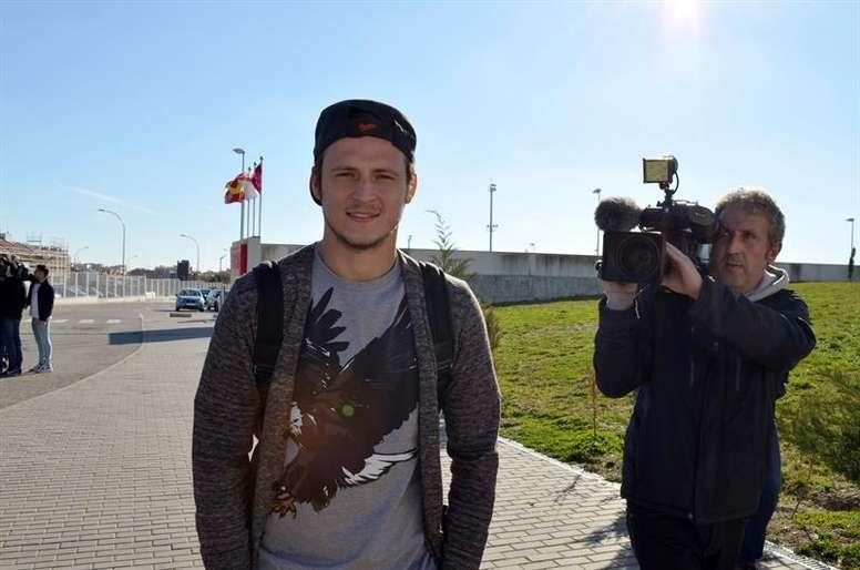 Zozulya suena ahora para reforzar un equipo de la Segunda de Ucrania. EFE
