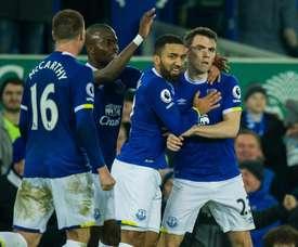 El Everton podría perder a un jugador la próxima temporada. EFE/Archivo