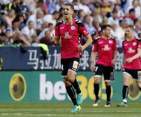 Feddal fue expulsado por doble amarilla ante el Málaga y no podrá jugar ante la Real Sociedad. EFE