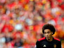 Witsel, en 'stand-by'. EFE