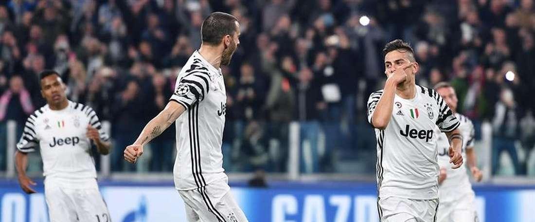 Empate a dois gols entre a Atalanta e a Juventus. EFE