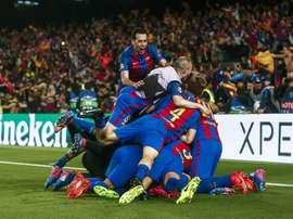 El fútbol del Barcelona atrae a la Ciudad Condal a los jóvenes de Azerbaiyán. EFE/Archivo