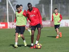 Traoré entra en la lista del Sporting. EFE/Archivo
