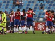 Paraguay goleó a Venezuela para certificar su clasificación. EFE