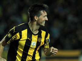 Mauricio Affonso anotó el segundo gol local. EFE