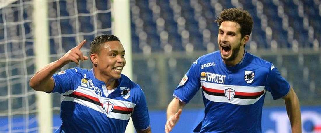 La Sampdoria espera poder arrebatarle el jugador al Inter. EFE/Archivo