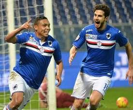 La Sampdoria está tratando de cerrar una nueva incorporación. EFE/Archivo