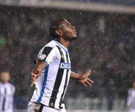 Duvan Zapata, objectif de la Sampdoria. EFE