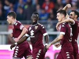 El Torino se ha desahogado a base de bien contra el Trapani. EFE/EPA/Archivo