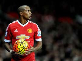 Ashley Young, sur le point de prolonger. EFE