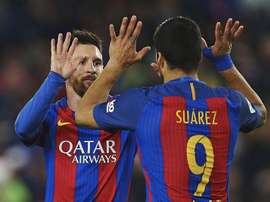 Messi and Suarez were both on the score-sheet. EFE