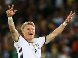 Schweinsteiger vai para a Liga USA. EFE/Arquivo
