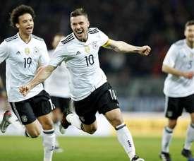 Três equipes da América que seduzem Podolski. EFE