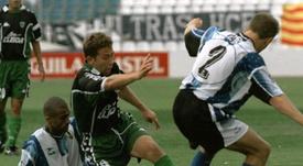 Raúl Tamudo llegó al Espanyol a cambio de balones. EFE