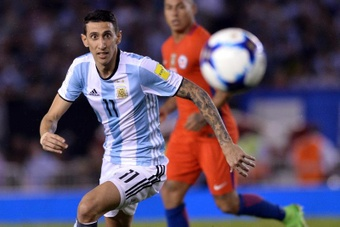 Di María returns to the Argentina national team. EFE
