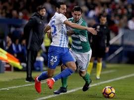 O time espanhol pode estar negociando com Felipe Gutiérrez. EFE