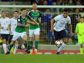 King (R) will miss the game against NI through injury. EFE