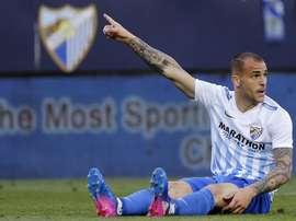 Goleador do Málaga interessa aos 'merengues'. EFE