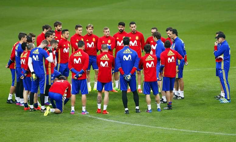 Le match amical entre la France et l'Espagne aura lieu ce soir. EFE