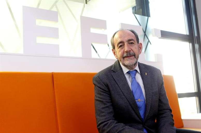 Francisco Díez fue denunciado por la RFEF. EFE/Archivo