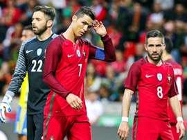 Suécia bateu Portugal por 3-2. EFE