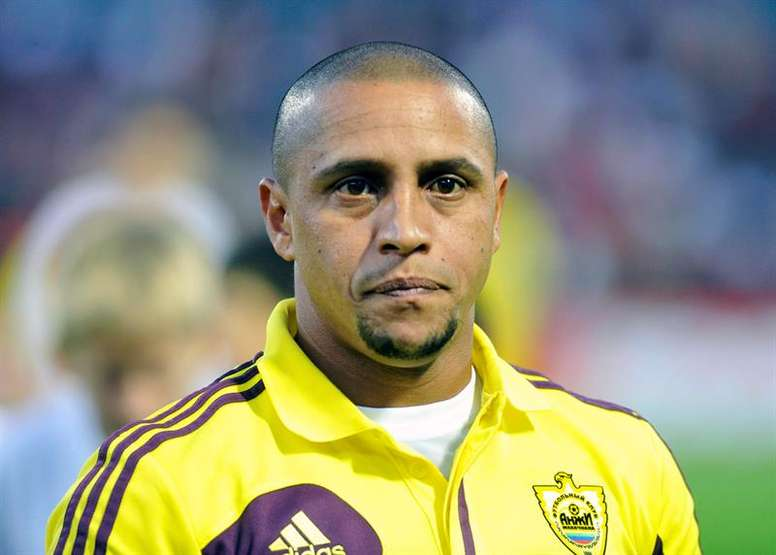 Roberto Carlos dévoile ses adversaires les plus coriaces. EFE