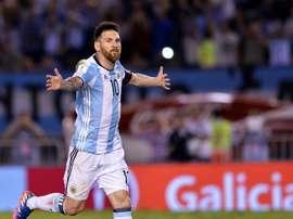 Leo Messi a choisit le titre le plus important de sa carrière. EFE