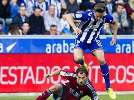 El futbolista de la Real tendrá que parar durante un tiempo. EFE/Archivo