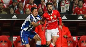 Rafa Silva tem aproveitado as oportunidades, na ausência de Salvio. EFE