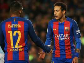 Neymar grabbed his 100th goal for Barcelona. EFE/Archivo