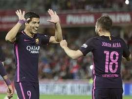Suárez lo bordó en Granada. EFE