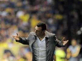 Valdés defendió a su técnico. EFE