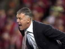 Lucas Alcaraz arremete contra el Barcelona. EFE/Archivo