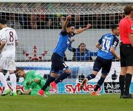 Amiri tiene contrato con el Hoffenheim hasta 2020. EFE