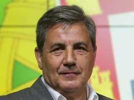 Presidente da Federação Portuguesa de Futebol, Fernando Gomes. EFE/Arquivo