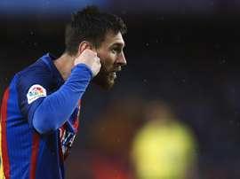 El hondureño se comparó con Messi. EFE