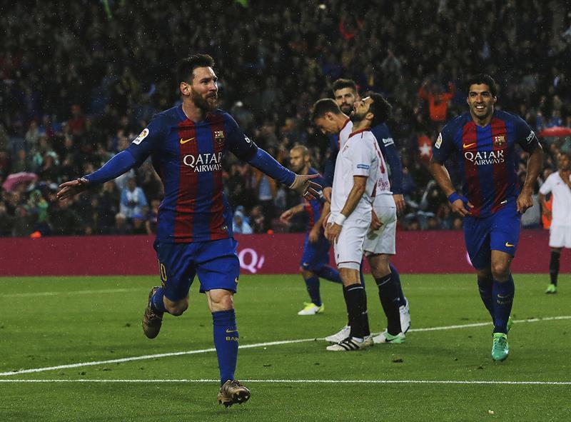 Le FC Barcelone écrase Séville et remporte le trophée — Coupe d'Espagne