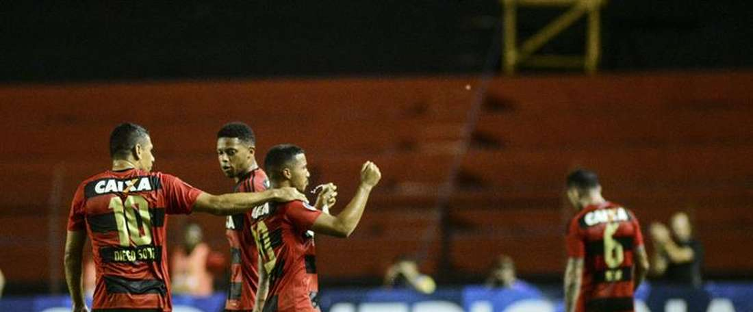 Sport Recife doblegó a Ponte Preta (3-1). EFE/Archivo