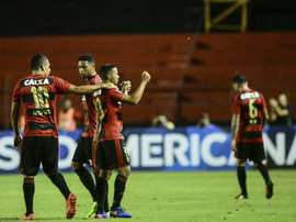 Sport Recife goleó a Coritiba. EFE