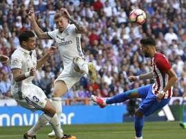 Pepe está em final de contrato com o Real Madrid, por exemplo. EFE