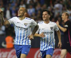 Sandro scored against his former club. EFE