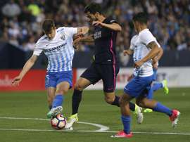 Manchester City pointed out interest in Barcelona's Eric Garcia. EFE