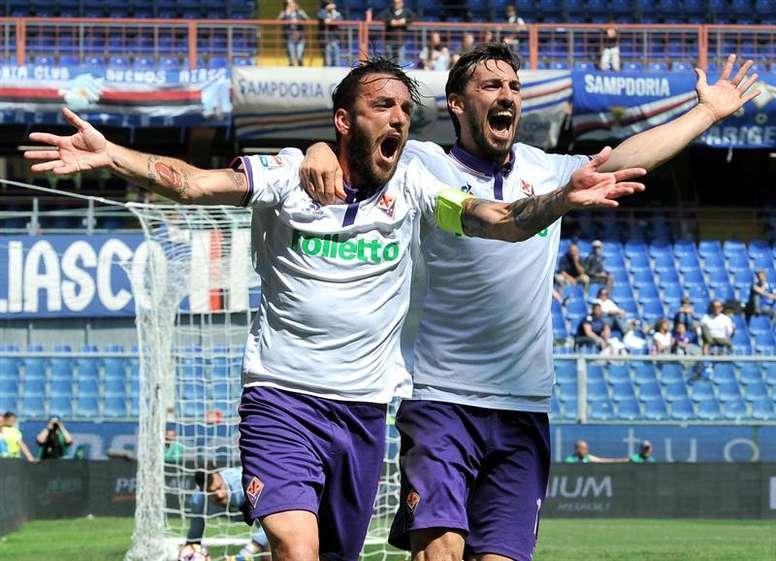 Astori est sur le point de signer un nouveau contrat avec la Fiore. EFE